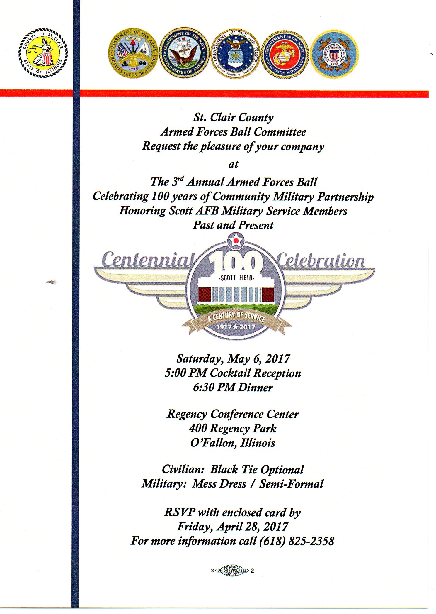 3rd Annual Armed Forces Ball
