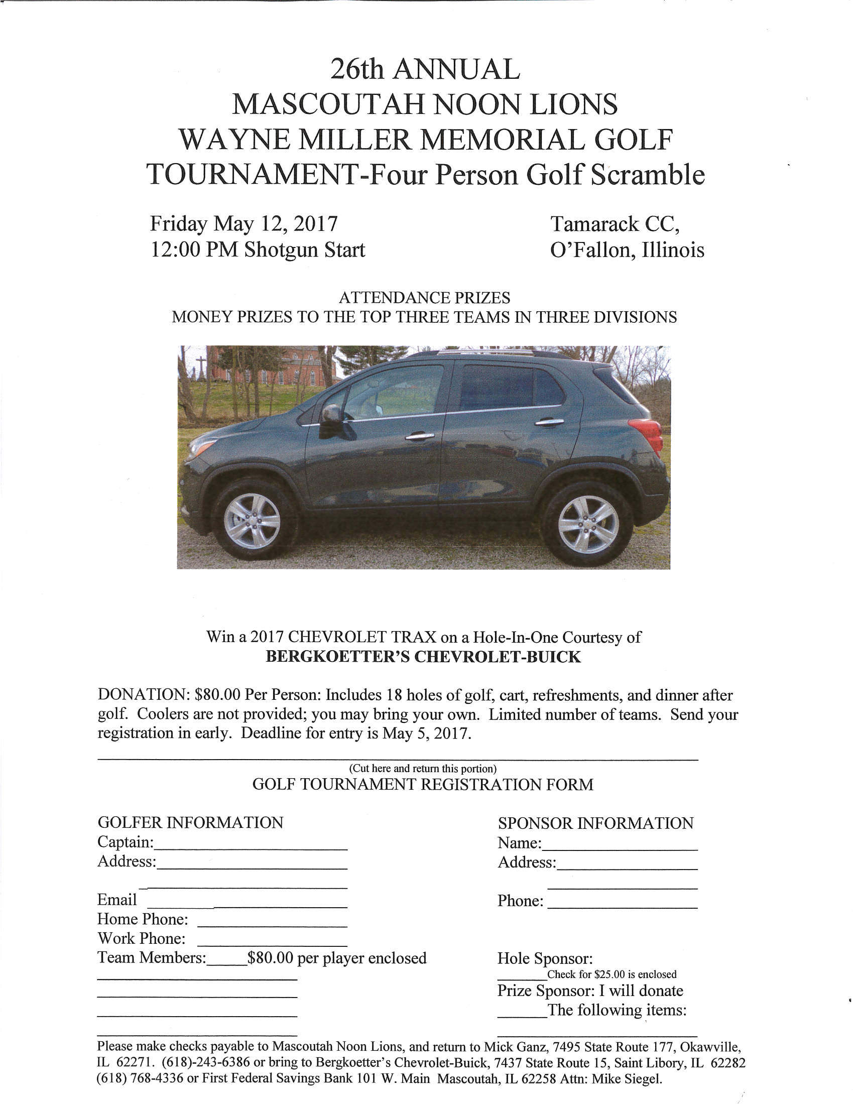 Wayne Miller Memorial Golf Tournament